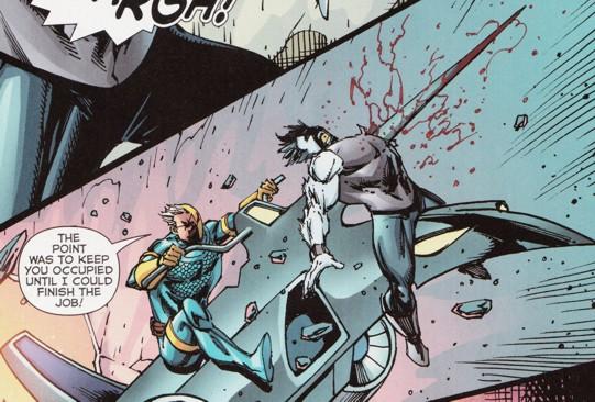 Deathstroke vs Namor t...